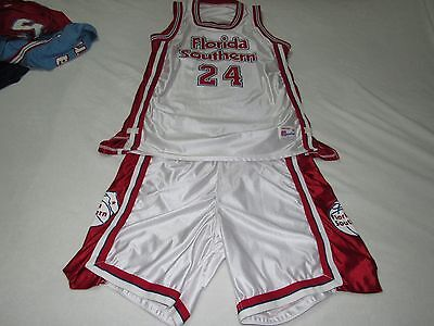 Brand New Vintage Florida Southern Moccasins Basketball Jersey And Shorts