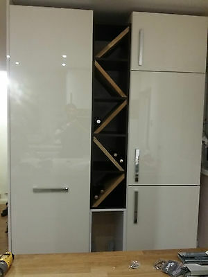 Larder Units kitchen cabinets made to make the most of your available space