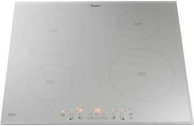 Whirlpool ACM804BA/S | 60cm Frameless Touch Cotrol 4 Zone Induction Hob - Silver