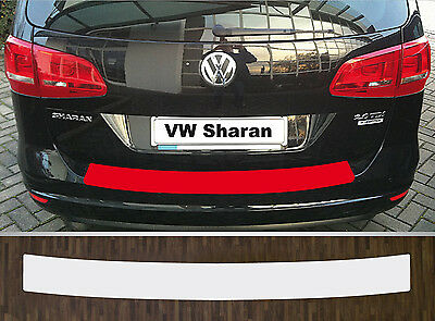 Boot edge protection clear perfect fit for VW Sharan Facelift ab 15