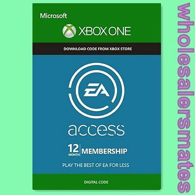 EA Access 12 Monate Key - Xbox ONE 12 Month Mitgliedschaft Karte Code Per Email