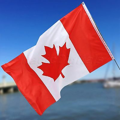 Polyester Canadian National Flag Canada Maple Leaf Banner Outdoor Indoor 3x5ft