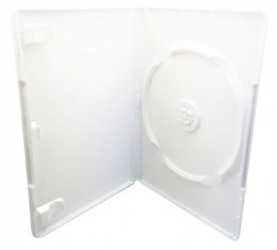 100 White Nintendo Wii Replacement Cases 14mm