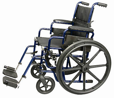 "Carex Wheelchair 18"" Foldable. Model # A227-00"