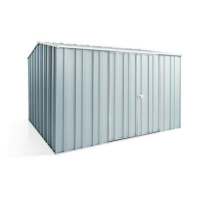 Spanbilt YardSaver G98 D/Door Gable Roof Garden Shed 3.14mx2.8m Collour