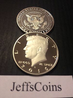2016 S Kennedy Half Dollar CLAD Proof Early Strike President Cameo Best Grading