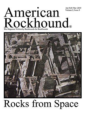 American Rockhound Magazine, Volume 2, Issue 5, Rocks from Space! CD PDF FILE