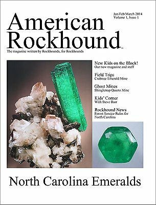 American Rockhound Magazine, Volume 1, Issue 1, The Emerald Issue! CD PDF FILE