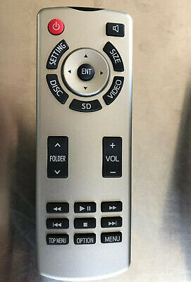 2014 2015 2016 2017 2018 Toyota Highlander Sequoia Rear Dvd Remote  86170-34030