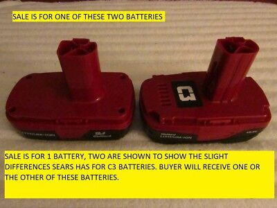 Craftsman C3 19.2 Volt  Lithium-Ion Battery NEW BULK FREE PRIORITY SHIPPING