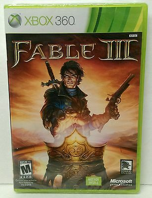 Brand new - FACTORY SEALED Fable III (Microsoft Xbox 360, 2010)