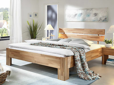 doppelbett bett 200x200 kernbuche buche holz massiv ge lt neu ovp eur 349 00 picclick de. Black Bedroom Furniture Sets. Home Design Ideas