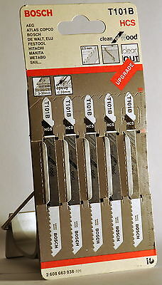 Bosch Jigsawblades For Wood Clean Cut T101B