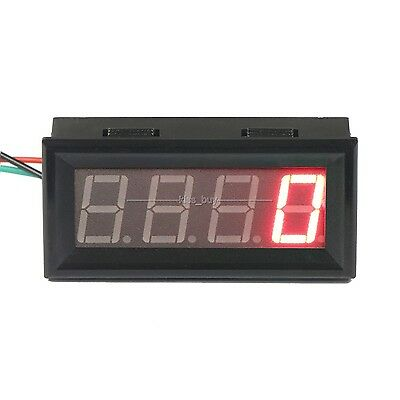 RED LED Digital Speedometer Tachograph Tachometer Speed Monitor meter 12v 24v