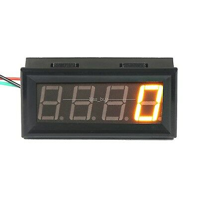 yellow LED Digital Speedometer Tachograph Tachometer Speed Monitor meter 12v 24v