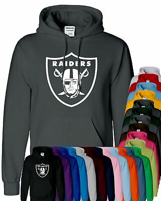 OAKLAND RAIDERS Mens Hooded American FOOTBALL NFL SPORTS Hoody Pullover Hoodies