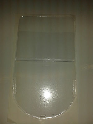 Qty 1 Shield Adhesive Backed Permit Holder Ref Clear  + Extra Pockets
