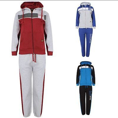Kids Boys DLX PROJECT  Tracksuit Sweat Top & Jog Track Bottoms Set