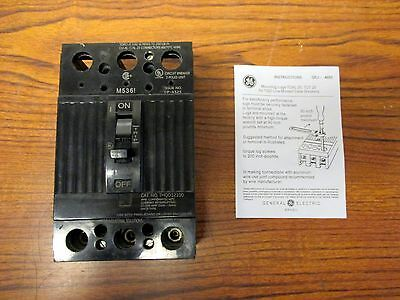 Ge Thqd32100 100 Amp 3 Pole 240 Volt Molded Case Circuit Breaker