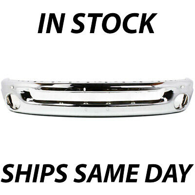 NEW Chrome - Front Bumper Face Bar for 2002-2009 Dodge RAM Pickup 1500 2500 3500