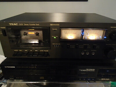 TEAC Stereo Cassette Deck CX-211  Needs Repair or PARTS