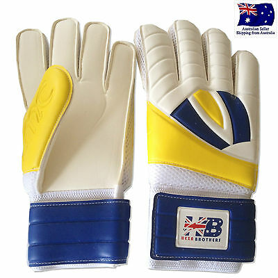 Hexabrothers Soccer Football Match Goalkeeper German Latex Protective Gloves