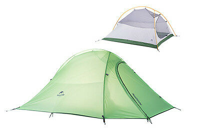 Outdoor 2 Person Ultralight Camping & Hiking Tent Double Layer Waterproof Tent
