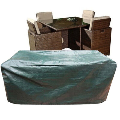 Waterproof Large 4-6 seater Patio Furniture Table Garden Chair Protection Cover