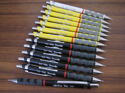 New Genuine Rotring Tikky 0.5 Mm Brown Mechanical Pencil 600 500 (In Stock)