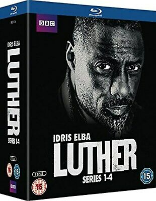 Luther: Series 1-4 (Box Set) [Blu-ray]