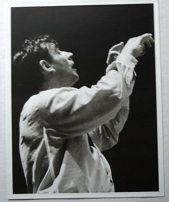 ORIG. 1956 PHOTO LEONARD BERNSTEIN by GARA - AMERICAN COMPOSER & CONDUCTOR