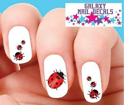 Waterslide Ladybugs Nail Decals Set Of 20 Orted