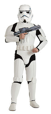 Halloween Lifesize Star Wars STORMTROOPER ADULT Men Standard DELUXE Costume NEW