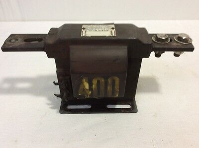 Westinghouse Type ECT-5 Current Transformer,Ratio 400:1 Amps 5