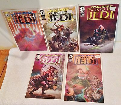 Star Wars TALES OF THE JEDI Complete Series 5 of 5 NEW