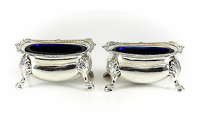 Pair of Edward Bernard & Sons Birmingham Sterling Silver Open Salts