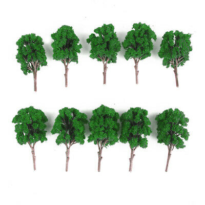 10 Model Trees Train Railway Architecture Diorama Layout Scenery 11cm HO OO