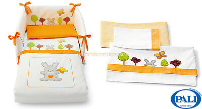 Set tessile Pali Smart Bosco Arancio + Set lenzuola coordinato Pali Smart Bosco