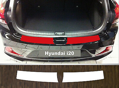 clear protective foil bumper transparent exact fit for Hyundai i20, ab 2014