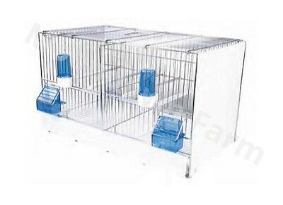 Double Breeding Cage / Small Bird Cage Suitable For Finches,Canary,Budgie,Birds
