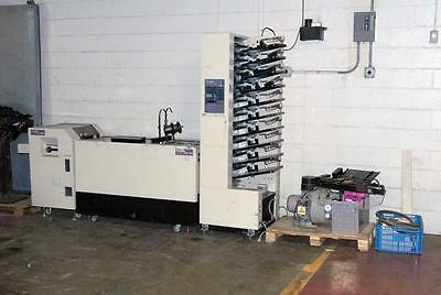 Duplo Dc 10000S Collator Air Tower,  200 Stitcher & Folding & 48Tw Trimmer