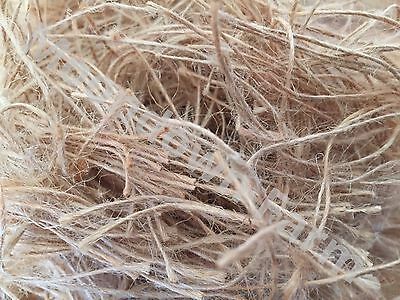 Just Jute Nesting Material 100G. 250G,500G,1Kg Ideal Fibre For Canaries/finches