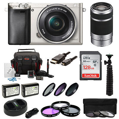 Sony Alpha a6000 ILCE6000LS ILCE6000L/S 24.3 MP Interchangeable Lens Camera+kit
