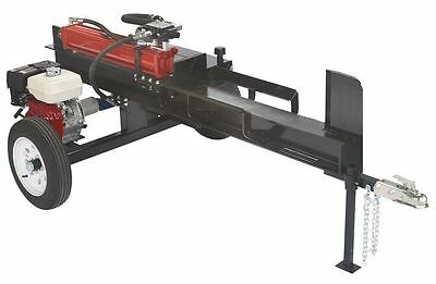 Horizontal Wood-Log Splitter Plans, Hydraulic 20 - 50 Ton, WoodSplitterPlans.Com