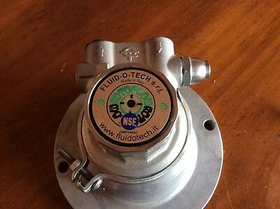 Fluid-O-Tech Stainless Steel Rotary Vane Pump
