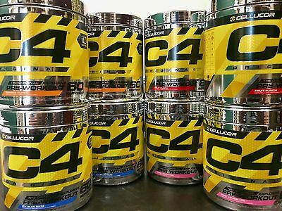 NEW STRONGER Cellucor C4 Origin 60 Ser. Pre-Workout Fruit Punch FREE SAME DAYSHI