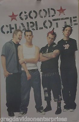 Good Charlotte 22x34 Group Music Poster 2001