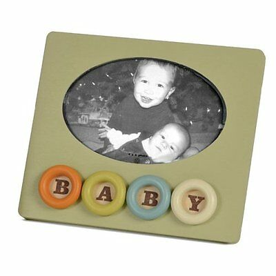 Tree by Kerri Lee Picture Frame Rings, Baby Green