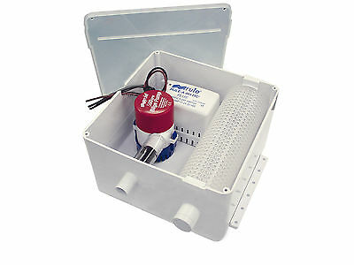 Marine Sump System 500 Gph 12V - Rule - Shower Drain System For Boats