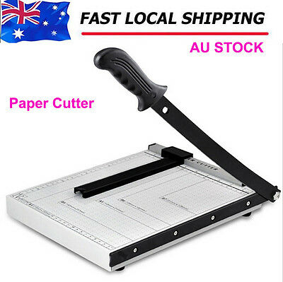 BN A4 To B7 Size Paper Photo Cutter Guillotine Trimmer 12 Sheets AU STOCK